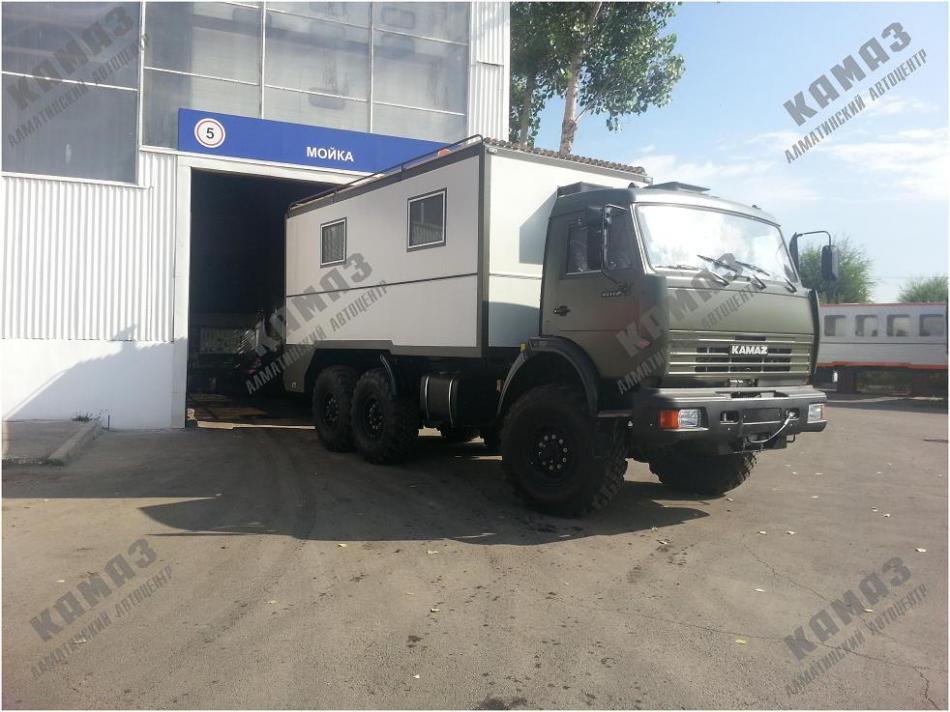 Бригадно-линейный автомобиль на шасси КАМАЗ 5350