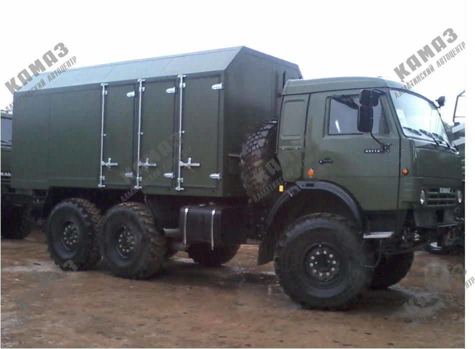 Автомобиль-фургон комбинированный на шасси КАМАЗ 5350 (43114)