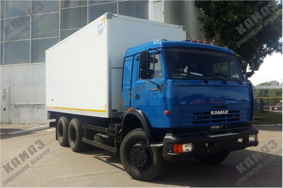 Фургон изотермический на шасси КАМАЗ 53215