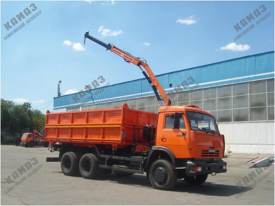 Автомобиль КАМАЗ 45143 с крано-манипуляторной установкой «Batyr Kaz» (Батыр Каз) PM 6022