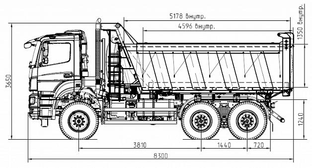 KAMAZ-65802-153001-87(S5)
