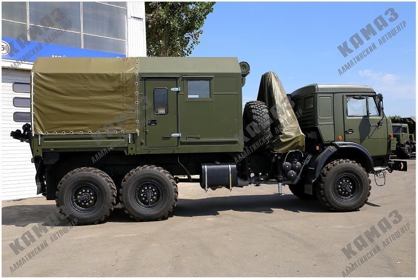 Машина технической помощи на шасси КАМАЗ 43118