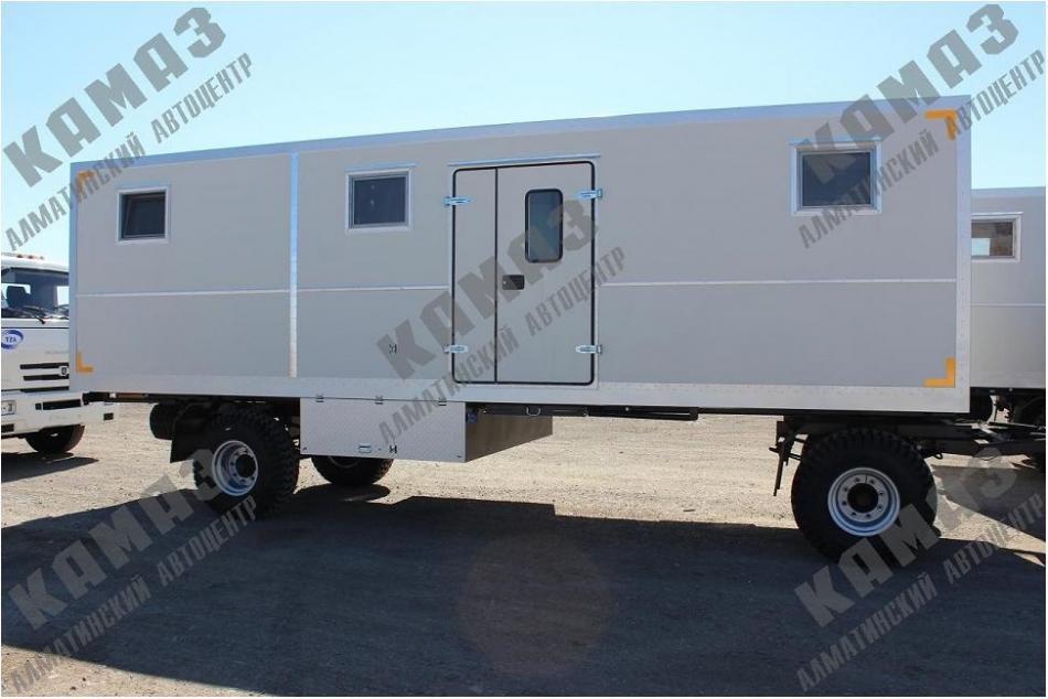 Прицеп-фургон для проживания 8 человек