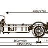 Шасси KАМАZ - 6520-73