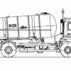 Машина ассенизационная КО-529-13