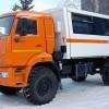 Вахтовый автобус НЕФАЗ-42111М на шасси КАМАЗ-43502 4х4
