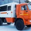Вахтовый автобус НЕФАЗ-42111М на шасси КАМАЗ-43502 4х4_1