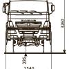 ШАССИ KAMAZ-65221-53