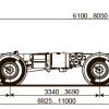 ШАССИ KAMAZ-63501-52