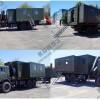 Командно-штабная машина с кузовом-контейнером переменного объема на шасси КАМАЗ 43118