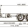 Шасси KAMAZ - 43118-46