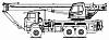 Автомобильный кран KC-65719-5К на шасси КАМАЗ-65222