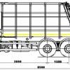 Мусоровоз с задней загрузкой 585180 (Zoeller Medium XL-S)